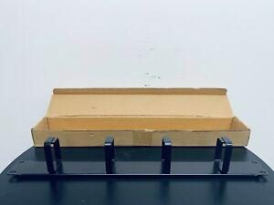 """Rack Cable Management Bar - 1U for 19"""" Server Rack - For Server Cabinets"""