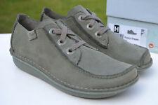 Clarks BNIB Ladies Lace-up Shoes FUNNY DREAM Sage UK 5.5 / 39
