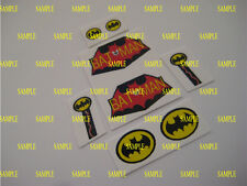 Corgi 925 - Batman Batcopter - Water Slides - B2G1F