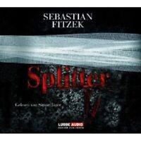 """SEBASTIAN FITZEK """"DER SEELENBRECHER"""" 4 CD BOX NEW"""