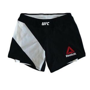 Reebok UFC CrossFit Women's Black Octagon Speedwick Fight Night Long Shorts