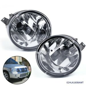 2x 100W 880 6000K White LED Fog Lights Lamp for Nissan Titan SL SV 2004-2015