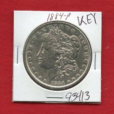 1884 MORGAN SILVER DOLLAR #93413 $ HIGH GRADE COIN US MINT RARE KEY DATE ESTATE