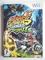 Mario Strikers Charged Football Jeu Vidéo Wii