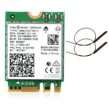 Intel Wireless 9260ac 9260NGW 1.73Mbps Dual Band BT5.0 Wifi Card IPEX 4 Antennas