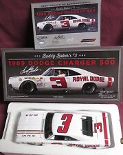 NEW, 1/24 UNIVERSITY OF RACING, 1969 DODGE CHARGER 500, #3, BUDDY BAKER