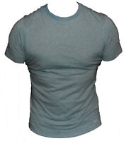 New G-Star Organic Raw Mens T-Shirt Round Neck in Orbit Blue Colour Size S