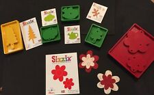 Sizzix Die Lot Originals Tree Leaf Flower Layers Gardening Scrapbook DieCut New