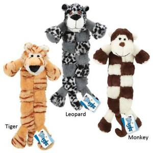 Safari Squeaktaculars Big Dog Toy Long Flat 12 Squeakers Choose Size & Character