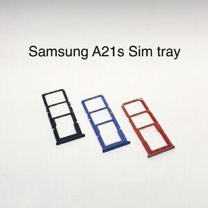 Samsung A21s (A217) Sim & Memory Card Tray Holder New