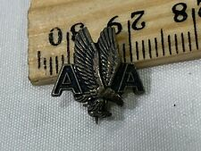 American Airlines Sterling Silver Balfour AA Eagle Pin SN