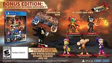 Sonic Forces: Bonus Edition [Sony PlayStation 4 PS4 Tails Knuckles, Shadow DLC]