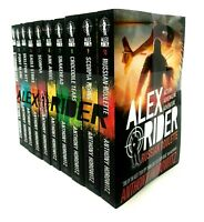 Anthony Horowitz Alex Rider 10 Books Set Pack Collection  Snakehead, Scorpia ...