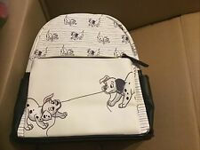 More details for new disney danielle nicole 101 dalmatians backpack & card holder usa exclusive