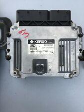 2013 HYUNDAI ACCENT Computer Brain Engine Control ECU EBX Module 39135-2EMA0