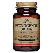 Solgar Pycnogenol Vegetable Capsules 30 Mg 60 Count