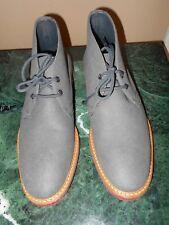 WILLS London Portugal Gray Grey Men's Vegan Desert Boots Shoes UK 7 EU 41 US 8