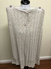 Isda & Co. Knitted Adorable Tan Skirt Size 10