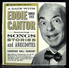 Eddie Cantor - A Date With LP VG+ AFLP -702 Mono Vinyl 1962 Record