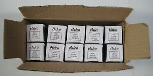 New 10 Halco Lighting Prism JC50 Halogen Clear Lamp Bulbs 107014 12V 20W G6.35