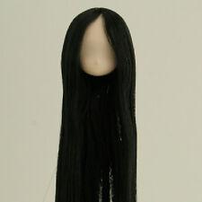 Obitsu Doll 11cm hair implantation head for Whity body (11HD-D01WC01) BLK