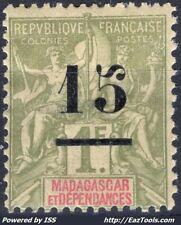 MADAGASCAR TYPE GROUPE N° 50 NEUF * AVEC CHARNIERE
