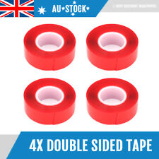 4x 3m Auto Truck Car Acrylic High Strength Double Sided Attachment Tape Roll NEW