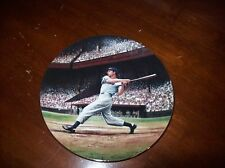 """""""Joe Dimaggio:The Streak"""" Plate First Issue in Great Moments in Baseball"""