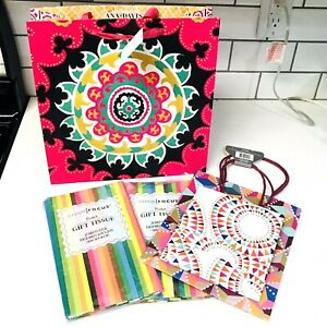 3 Colorful Gift Bags & 2 Packs Colorful Gift Tissue Paper (20 sheets/ea)