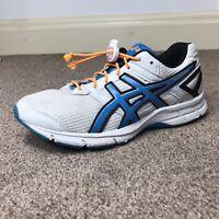 ASICS Gel Galaxy 8 Women's UK Size 4.5 White/Blue Running Shoes