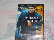 The Bourne Identity (DVD, 2004, The Collectors Edition - Full Frame) Matt Damon