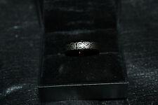 Tungsten Carbide Celtic dragon ring men's size 9