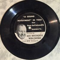 Jack Brickhouse WGN Chicago CUBS Sound Investment VG+ NEVER SEEN INSANELY RARE