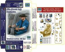 Masterbox 24044 1:24th Scale Truckers Series Truck Driver Mike Barrington