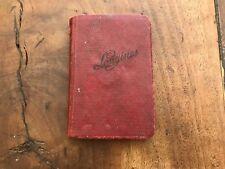 Agenda LONGINES Notebook 1927 1928 - Vintage - Watch Relojes Montres - Used