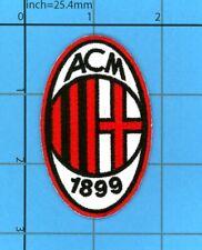 AC Milan football soccer UEFA Iron on Patch Rossoneri Baggio Basten Boban Milano