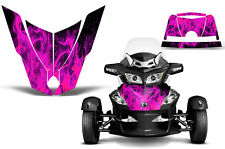 Can Am BRP RTS Spyder Roadster Hood Graphic Kit Decal Sticker Wrap 10-11 ICE PNK