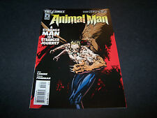 NEW 52 ANIMAL MAN #3 1ST PRINTING DC COMICS JEFF LEMIRE TRAVEL FOREMAN JEFF HUET