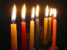 150 Thin COLOURED CANDLES ... Joblot multi bundle Box wholesale candel Lights