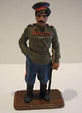Tin Soldier Figurine en étain WK1 Collector Russe Armée Kozak avec bonnet et
