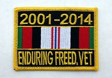 US MILITARY OPERATION ENDURING FREEDOM VETERAN PATCH NAVY ARMY MARINE AIR FORCE