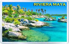 RIVIERA MAYA MEXICO FRIDGE MAGNET SOUVENIR IMÁN NEVERA