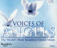Voices of Angels The Worlds Most Beautiful Choral Music 3 CDs Mozart Handel More