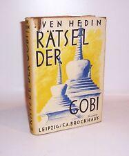 Sven Hedin Rätsel der Gobi 1942 Brockhaus !