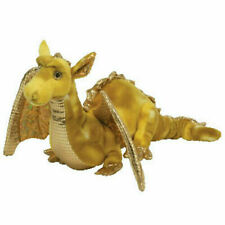 """Ty Classic Tempest The 17"""" Gold Dragon Plush Retired Borders MWMT"""