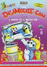 Digimouse.com, DVD, 2002,  No.08 Episodes 3. Perfect Fit, and 4. Healthy Bop New