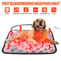Heating Pet Pad Blanket Electric Waterproof tress Heated Cat/Dog Warm Bed