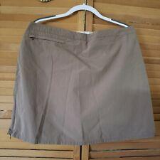 Magellan Sportswear Womens Size 14 Skort with Front Zip Pocket