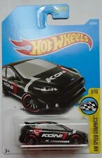 2017 Hot Wheels HW SPEED GRAPHICS 8/10 Ford Focus RS 79/365 (Black Version)