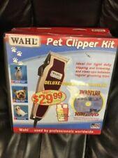 Wahl Adjustable Animal Pet/Dog Clipper+CD Shampoo Conditioner 9281-200 NEW